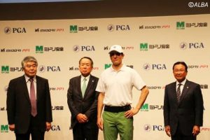ゴルフ記者会見
